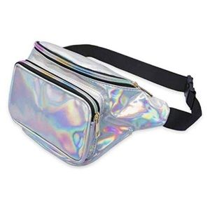 Bags - Holographic Iridescent Rave Fanny Pack NWOT
